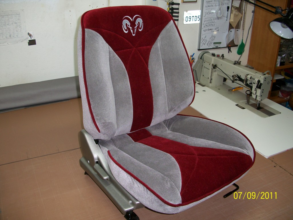 antique classic car re upholstered 2
