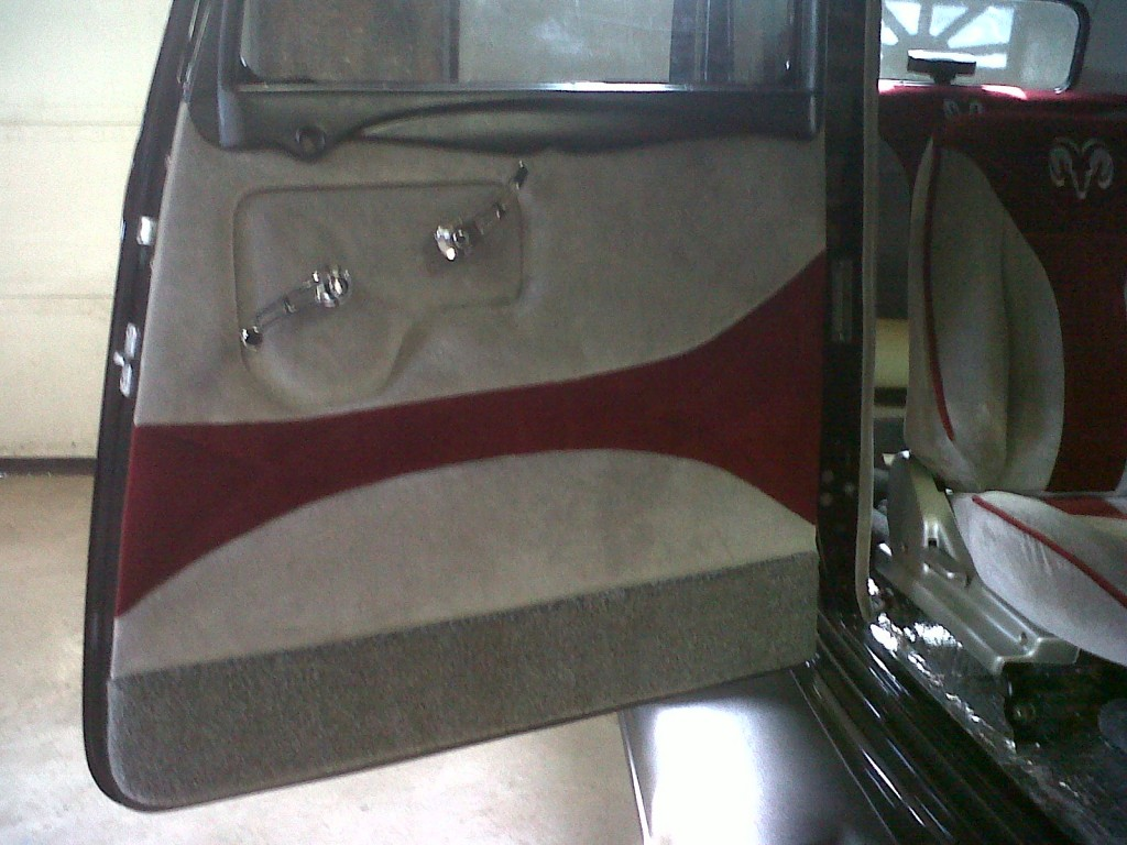 antique classic car re upholstered